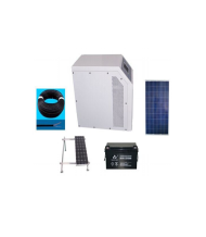 AC solar home system 120w to 40