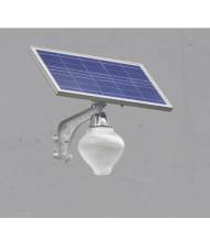 Solar LED garden light-Apple