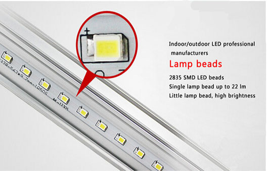 seperated LED tube with different material