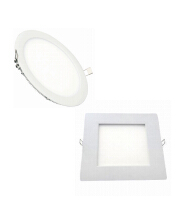 LED panel light with small size