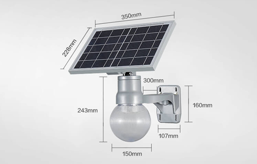 Solar LED Garden Light-Moon light