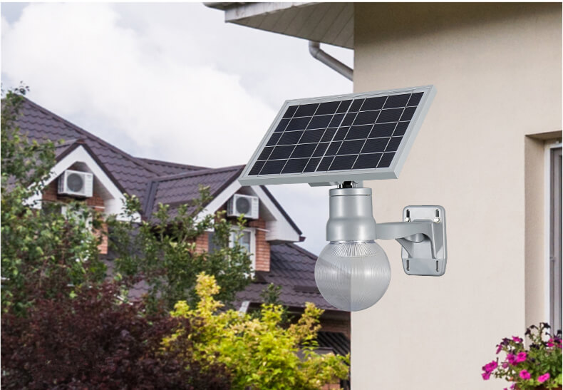 good design and easy installed solar led garden light