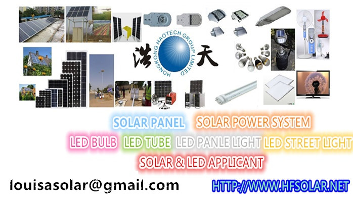 haotech solar items and led lamps